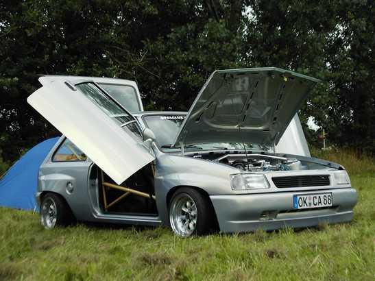 Vauxhall Nova Rally Car. Rides - 1992 Vauxhall Nova